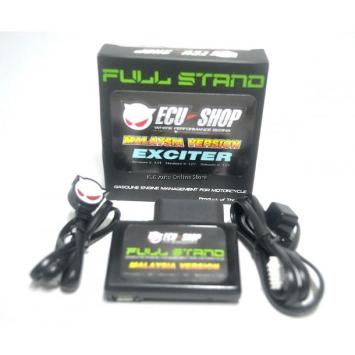 ECU=SHOP Full Stand Malaysia Version - Exciter Y15 Y15ZR