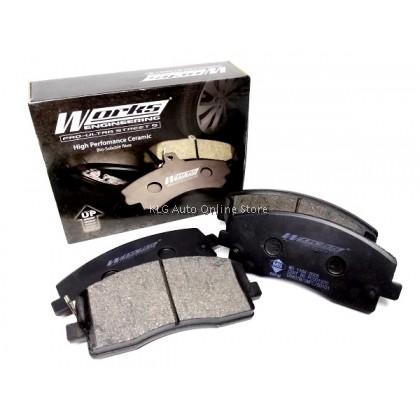 Works Brake Pad - Mira L200S L2S 660 Turbo 0° - 500°